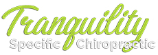 Tranquility Specific Chiropractic Logo
